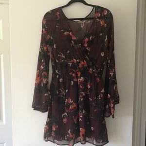 Abercrombie and Fitch Women's Floral Short Dress